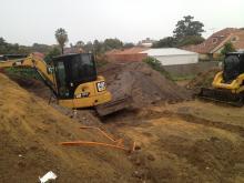 CAT 5.5t Excavating